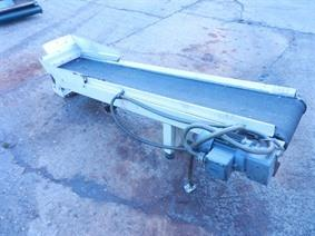 Scrap conveyor 1800 x 240 mm, Various