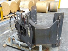 Forklift attachment Kaup roll clamp, Vehicules (elevateurs - netoyage - etc)