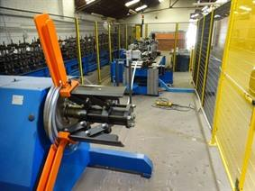 Tecnoma punching & bending installation hooks, Stamping & punching press thin metalsheet