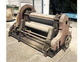 Eichener bending roll for corrugated plates, Bending rolls