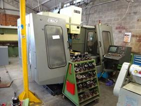 Eumach MC-1300P X: 1350 - Y: 610 - Z: 610mm, Vertical machining centers
