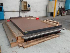Floorplate Heidelberg 4000 x 2500 mm, Tables & Floorplates