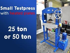 Arlo press heated plates 25 or 50 ton, Presses a deux montants