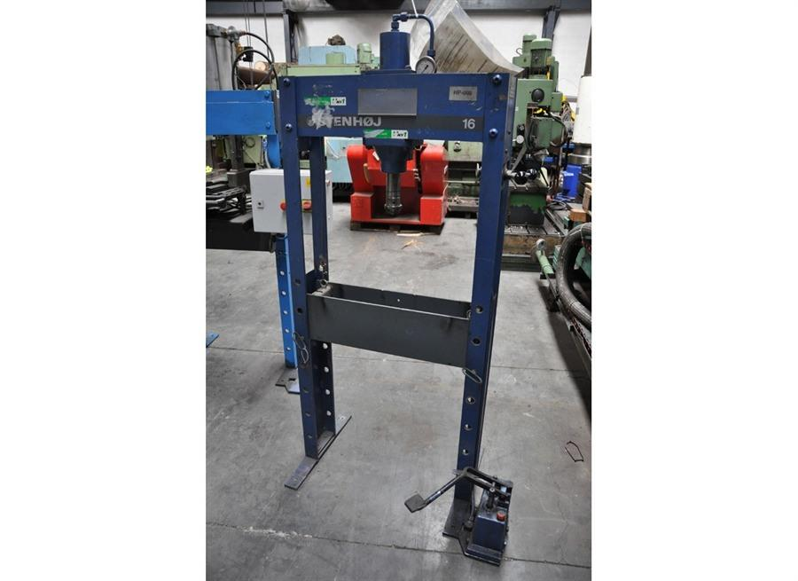 Stenhoj - 16 ton | Garage press machines, N° 9021