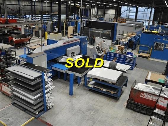 Finn Power A5 SB 23 ton, Stamping & punching press thin metalsheet