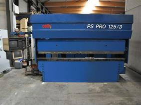 Colly PS Pro 125 ton x 3100 mm CNC, Hydraulic press brakes