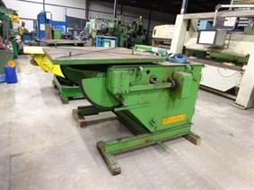 Aronson 5 ton, Turning gears - Positioners - Welding dericks & -pinchtables