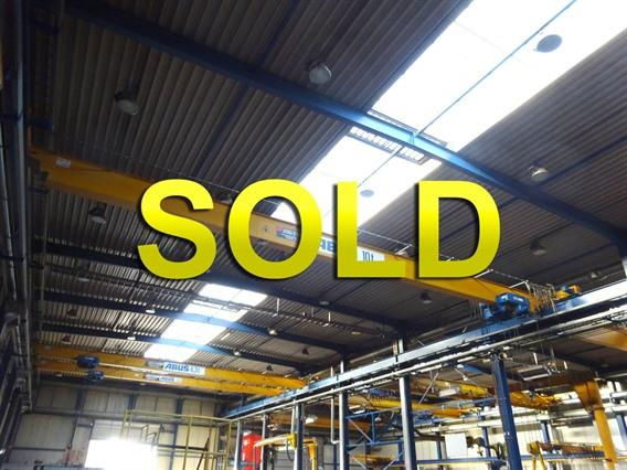 Abus 10 ton x 17 350 mm, Conveyors, Overhead Travelling Crane, Jig Cranes