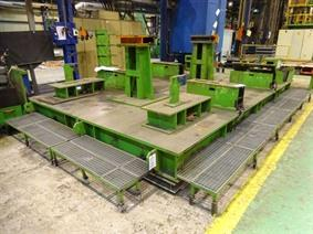 Floorplate 4700 x 1750 x 350 mm, Tables & Floorplates