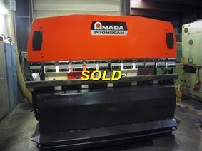 Amada Promecam IT2 80 ton x 2500 mm CNC, Hydraulic press brakes