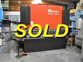 Amada Promecam HFBO 220 ton x 3100 mm CNC, Hydraulic press brakes