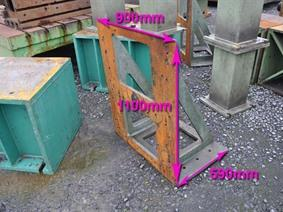 Clamping bracket 1100 x 900 mm, Cubic- & angleplates or tables
