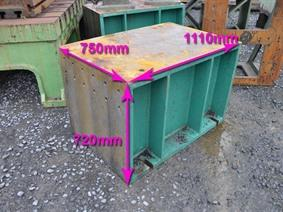 Clamping bloc 750 x 720 mm, Cubic- & angleplates or tables