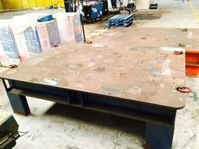 Welding table 2400 x 1640 mm, Tables & Floorplates