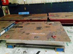 Welding table 2270 x 1750 mm, Tables & Floorplates