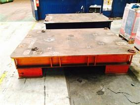 Welding table 2430 x 1760 mm, Tables & Floorplates