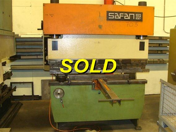 2 me main safan sk 25 ton x 1650 mm n 9162 for 2eme main machine a coudre