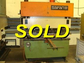 Safan SK 25 ton x 1650 mm, Hydraulic press brakes