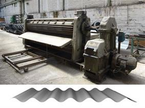 Eichener corrugated sheets 3700 mm, Rundbiegemaschinen