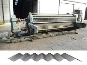 Eichener corrugated sheets 3700 mm, Вальцы