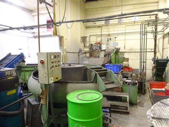 Rosler Rotofinish Deburring Line Dryer Polishing