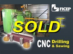 Ficep CNC drilling & sawing, Decoiling + / or Roll forminglines