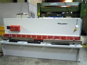 Beyeler CP 3100 x 6 mm CNC, Hydraulic guillotine shears