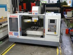 Bridgeport VMC 1000/22 X: 1020 - Y: 510 - Z: 500 mm CNC, Vertical machining centers