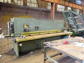 Safan HVS 3100 x 13 mm, Hydraulische Plaatscharen & Guillotinescharen