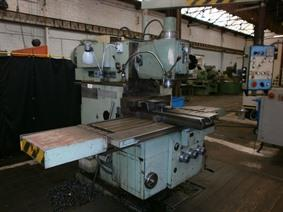 Tos FGS 50/63 X:1400 - Y:630 - Z:500 mm, Universele freesmachines conventioneel & CNC