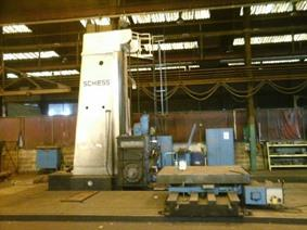 Schiess BF16 X: 8000 - Y: 3000 - W: 1400 mm, Borers with travelling column, floor type