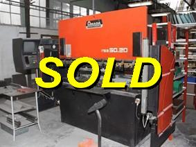 Amada Promecam ITS2 50 ton x 2100 mm CNC, Hydraulic press brakes