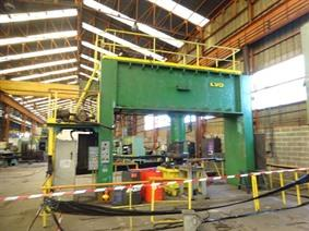 LVD CN 400 ton dish end forming, Presses a border