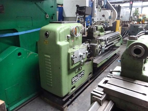Graziano Ø 508 x 2500 mm, Centre lathes
