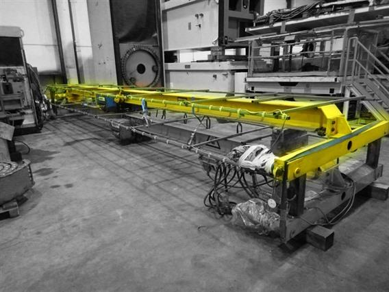 Abus 1,25 ton x 10 000 mm, Conveyors, Overhead Travelling Crane, Jig Cranes