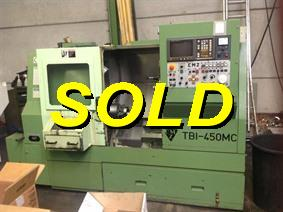 CMZ TBI-450MC Ø 450 x 500 mm CNC, CNC lathes