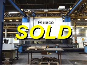 Haco HSDY 800 ton x 6100 mm CNC, Hydraulic press brakes