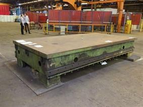 Welding table 4000 x 2000 mm, Piastre e basamenti
