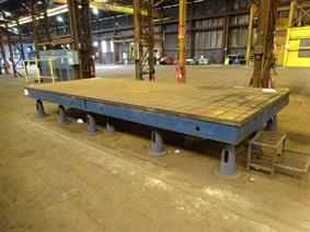 Welding table 6000 x 2400 mm, Tables & Floorplates