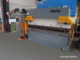 Haco PPES 60 ton x 3100 mm CNC, Hydraulic press brakes