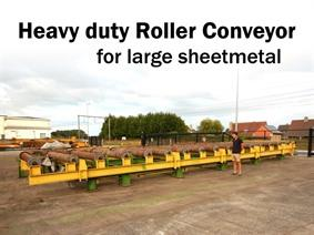 Heavy Duty Roller Conveyors 3100 mm, Varia
