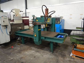 Fug mobile straightening press 50 ton, Garage press machines