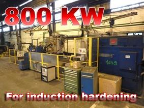 Herkules Ø 1550 x 6500 mm CNC, Surface treatment machines