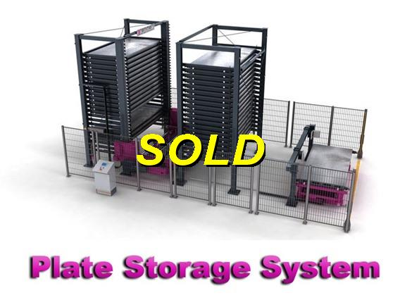 Remmert/Bystronic, Plate storage