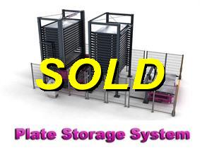 Remmert/Bystronic Plate storage, Storage & retrievel systems / Containers