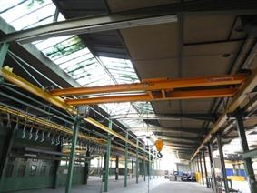 Konecranes 2,5 ton x 8950 mm, Rolbruggen, Loopbruggen, Takels & Kranen
