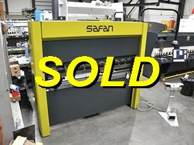 Safan E-brake SMK 40 ton x 2050 mm CNC, Hydraulic press brakes