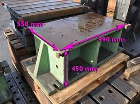 Clamping bloc 990 x 550 x 450 mm, Cubic- & angleplates or tables