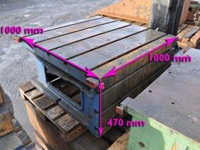 Clamping bloc 1000 x 1000 x 470 mm, Cubic- & angleplates or tables