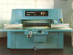 Wohlenberg 1320 mm CNC (paper/plastic), Mechanical guillotine shears